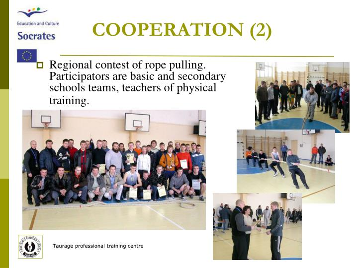 COOPERATION (2)