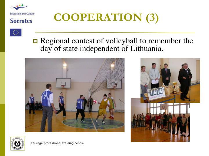 COOPERATION (3)
