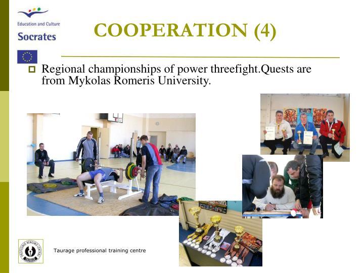 COOPERATION (4)
