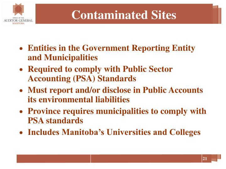 Contaminated Sites
