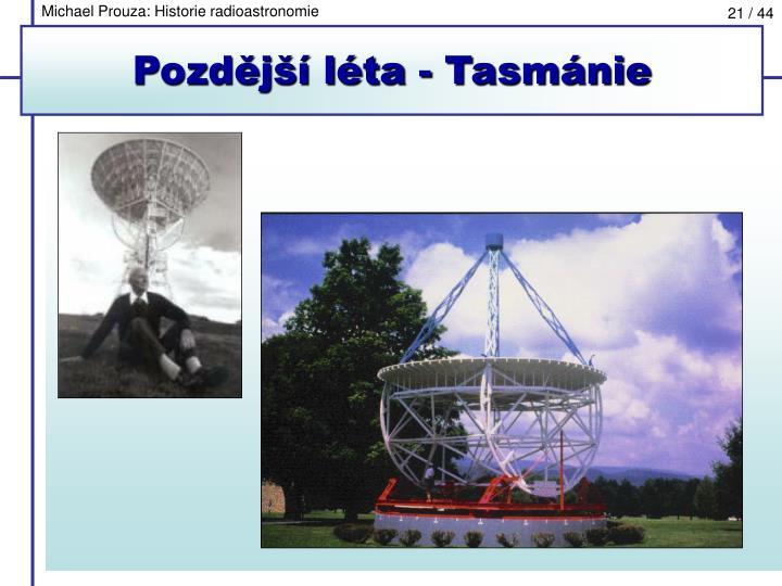 Michael Prouza: Historie radioastronomie