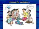 demand for sanitation1