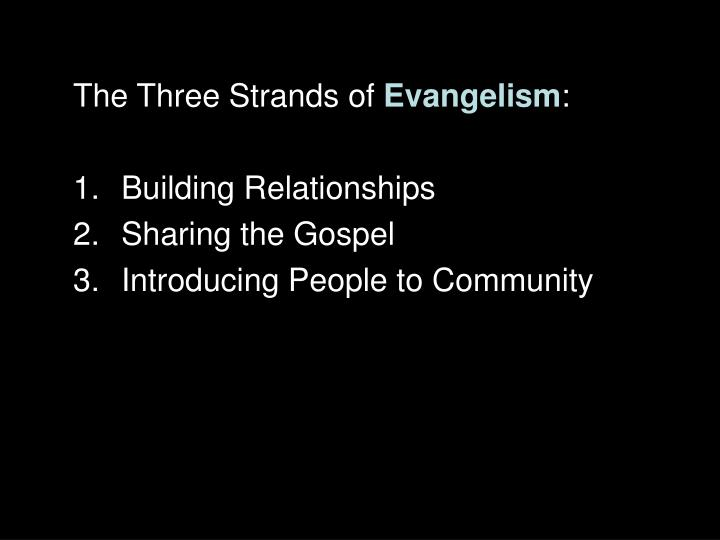 The Three Strands of