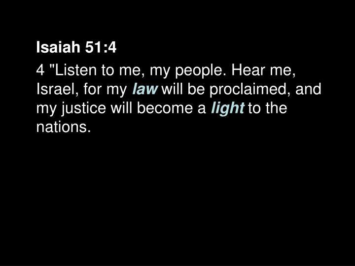 Isaiah 51:4