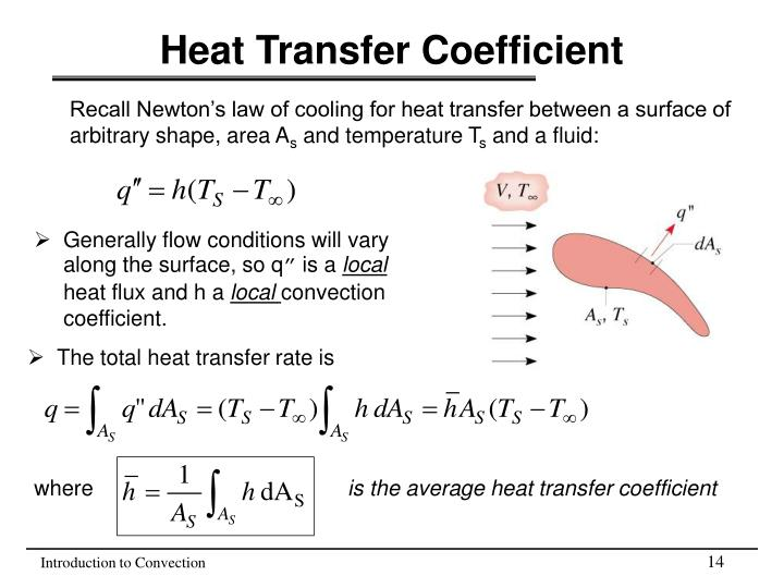 Ppt Heat Transfer Coefficient Powerpoint Presentation Free Download Id 3347301