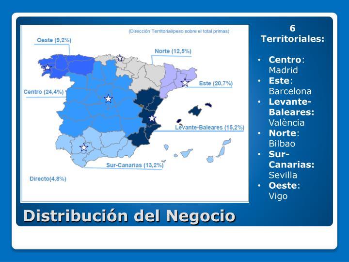 6 Territoriales: