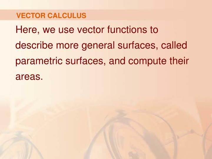 Vector calculus1