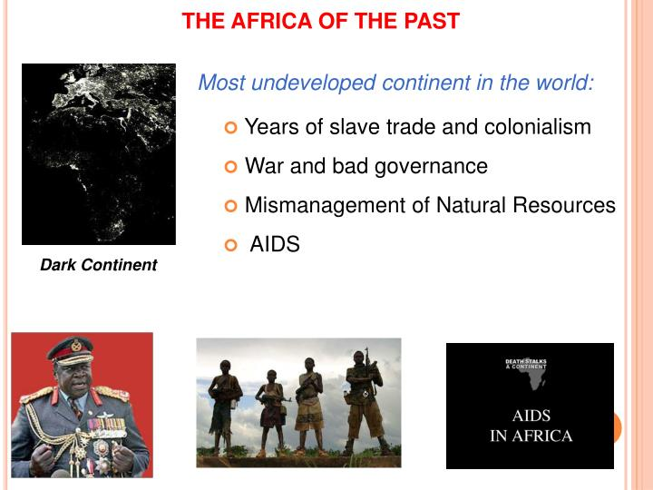 THE AFRICA OF THE PAST