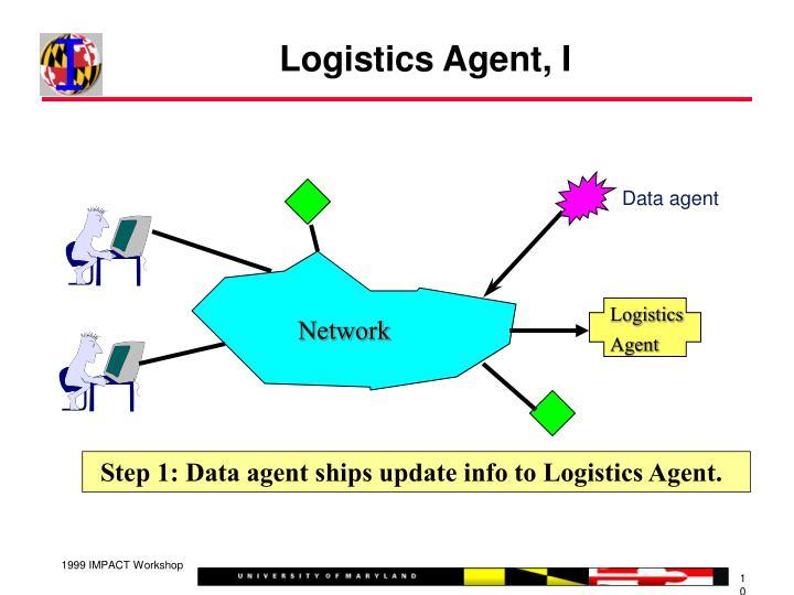 Logistics Agent, I