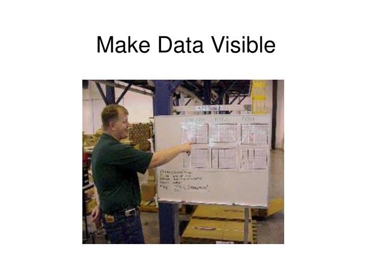 Make Data Visible