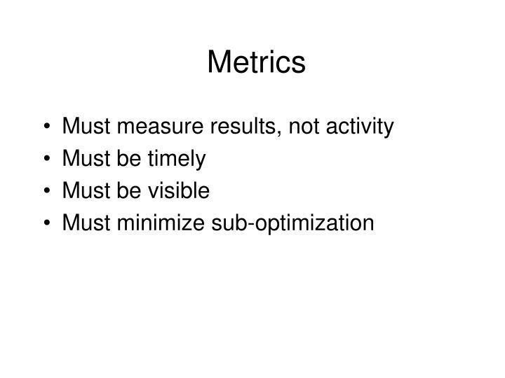 Metrics1