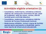 activit ile eligibile orientative 2