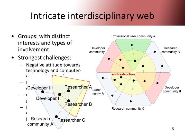 Intricate interdisciplinary web