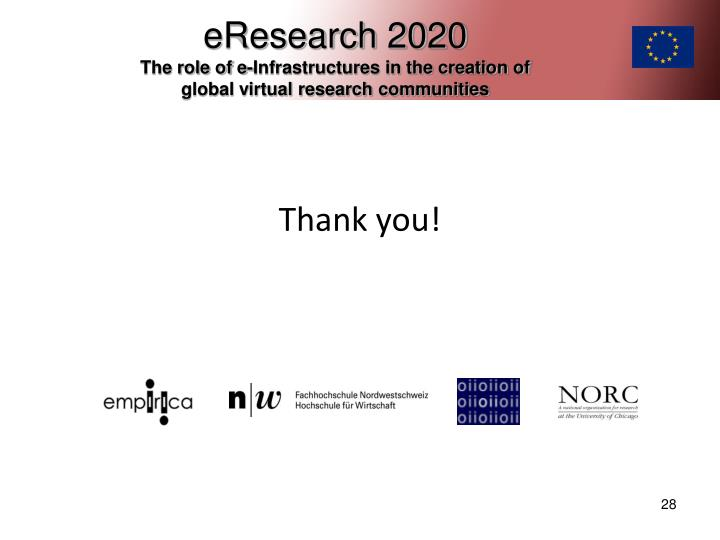 eResearch 2020