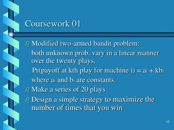 Coursework 01