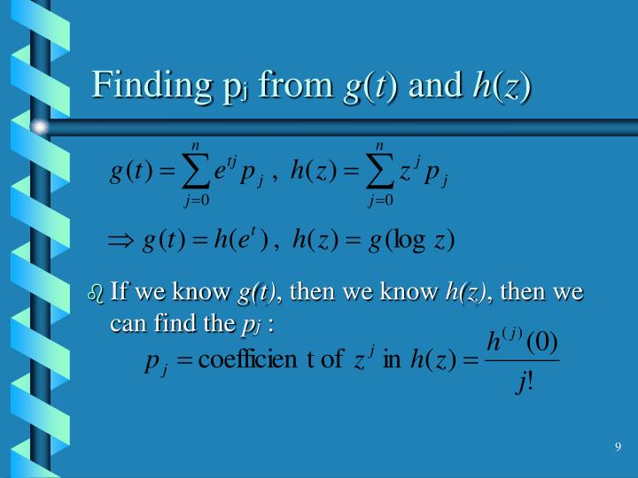 Finding p
