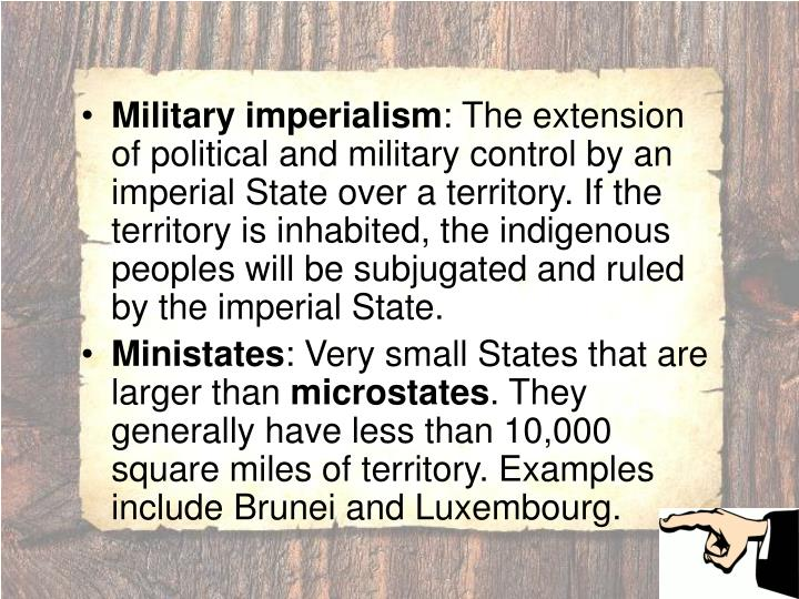 Military imperialism