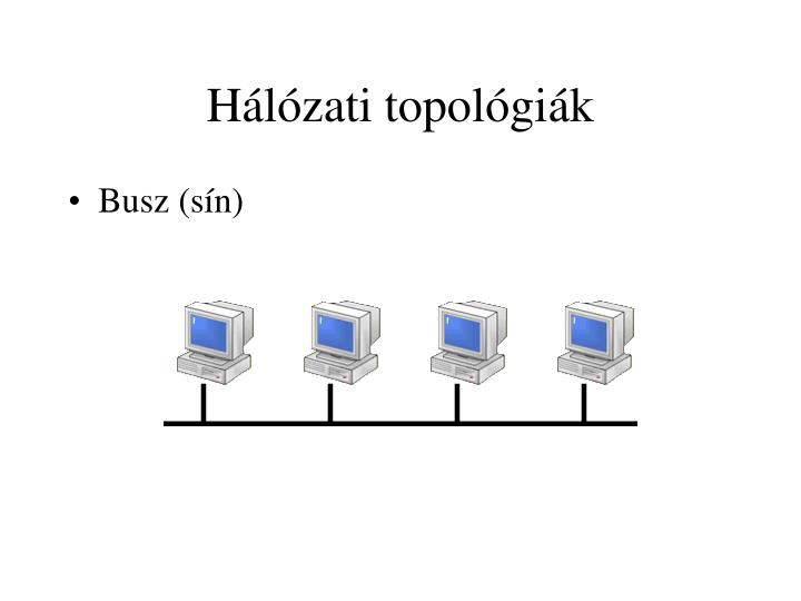 Hálózati topológiák