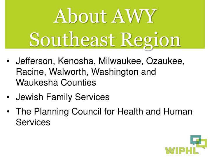 About AWY Southeast Region