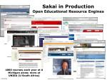 sakai in production open educational resource engines
