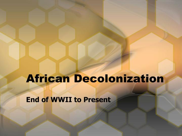british decolonisation in africa essay