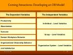 coming attractions developing an ob model2