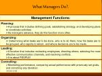 what managers do1