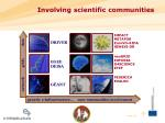 involving scientific communities