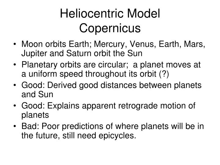 Heliocentric Model
