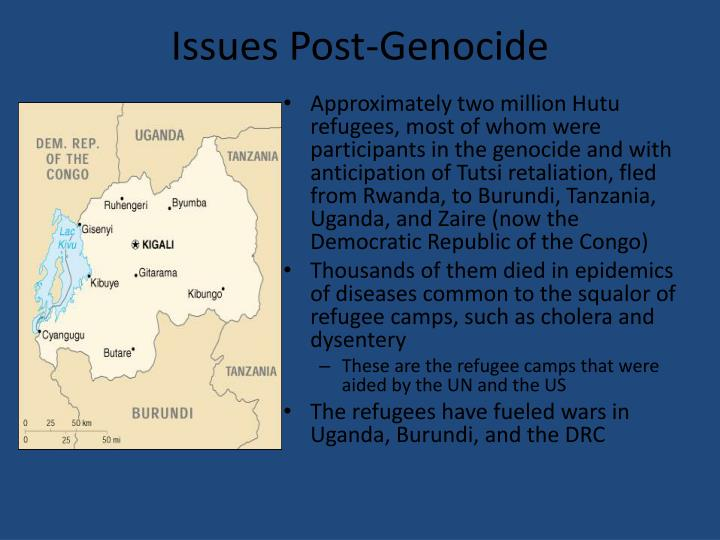 Issues Post-Genocide
