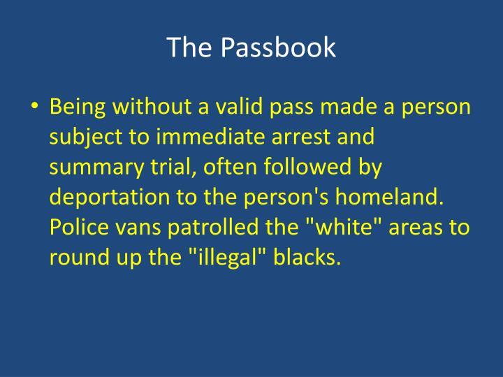 The Passbook