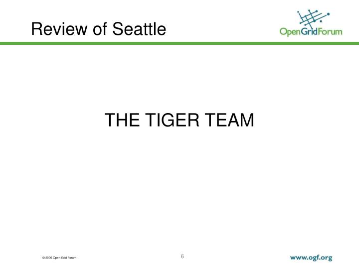 Review of Seattle
