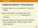 implementation inheritance2