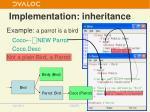 implementation inheritance3