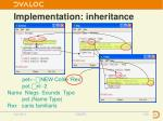 implementation inheritance8