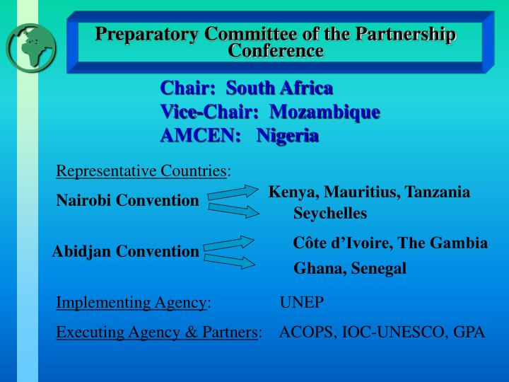 Preparatory committee of the partnership conference