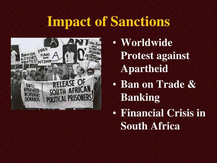 Impact of Sanctions