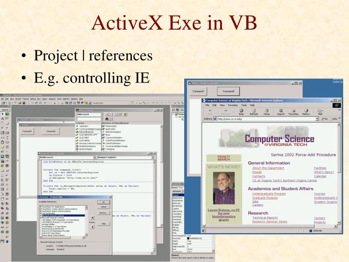 ActiveX Exe in VB