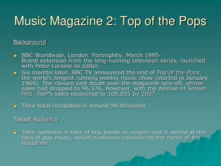 Music Magazine 2: Top of the Pops