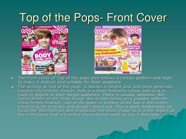 Top of the Pops- Front Cover