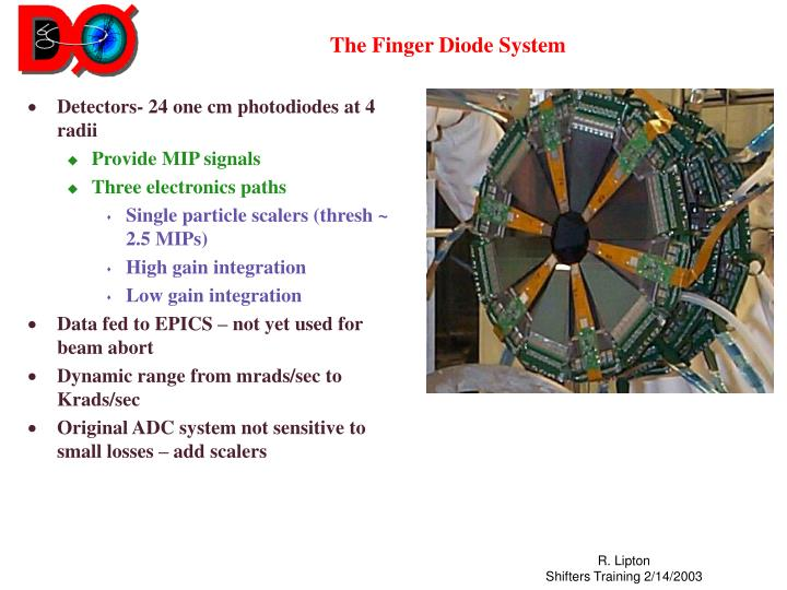The Finger Diode System