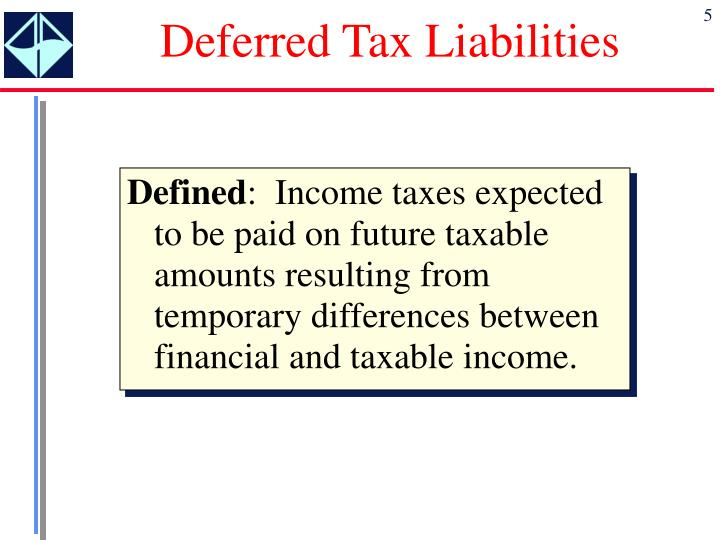 Deferred Tax Liabilities
