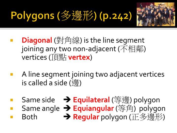 Polygons (
