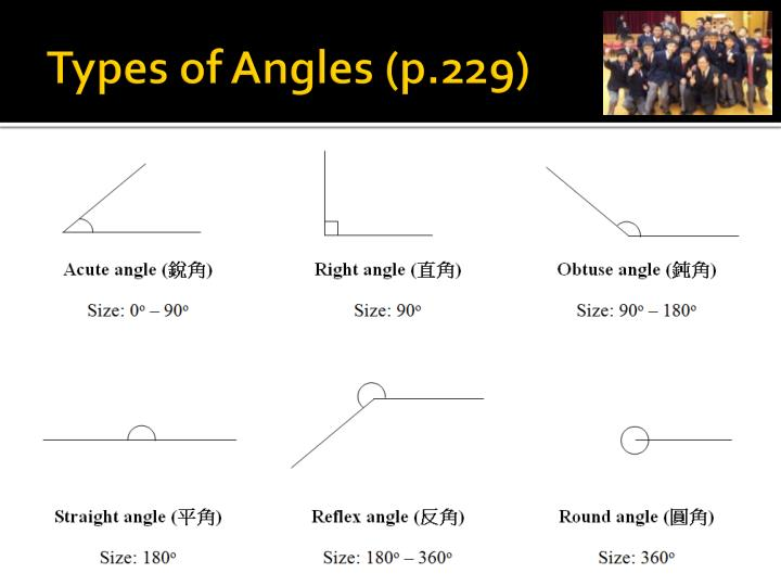 Types of Angles (p.229)