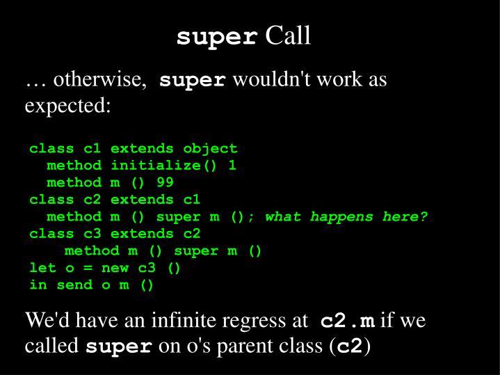 Super call1