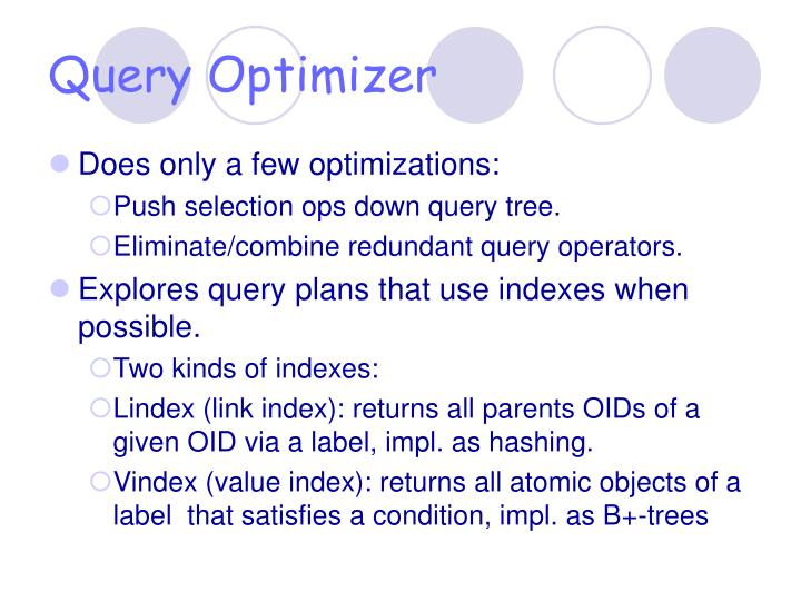 Query Optimizer