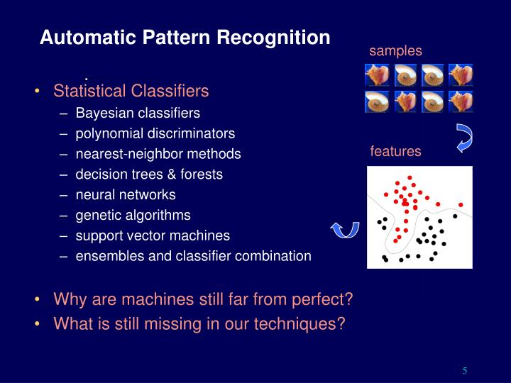 Automatic Pattern Recognition
