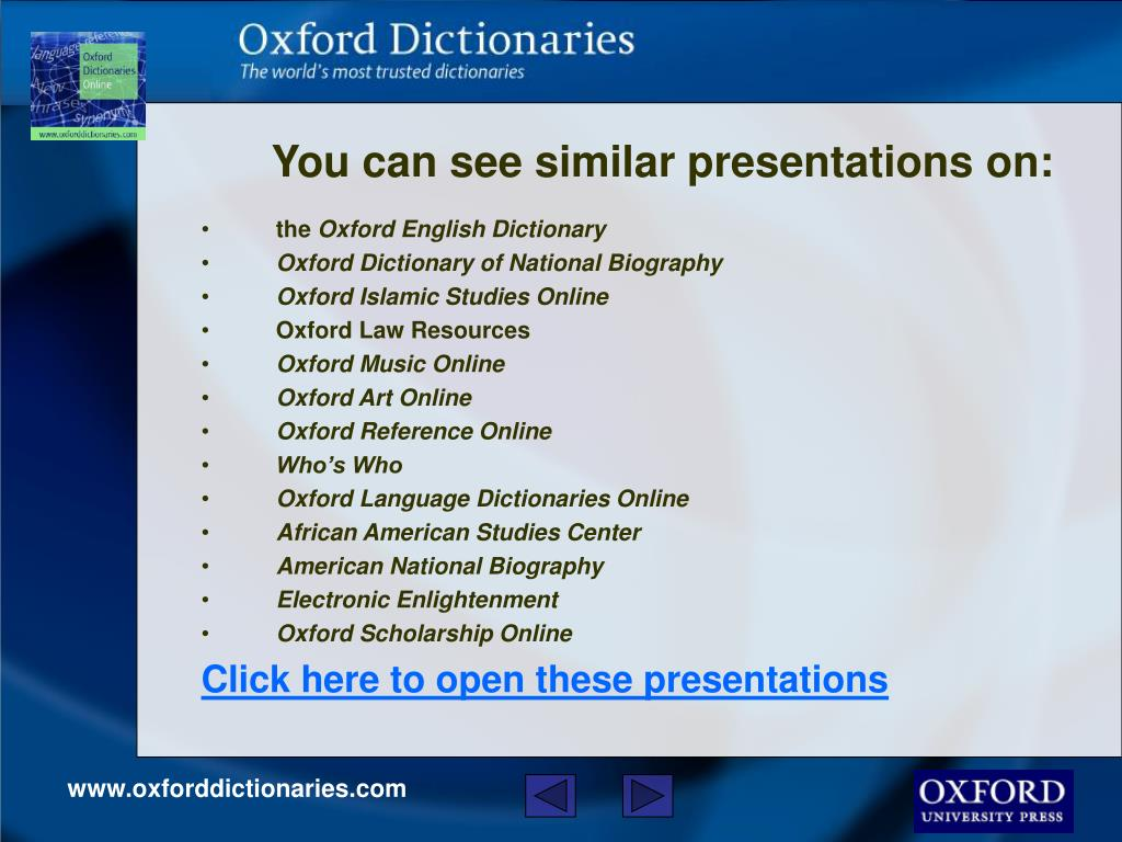 PPT - Online Resources PowerPoint Presentation - ID:3347716