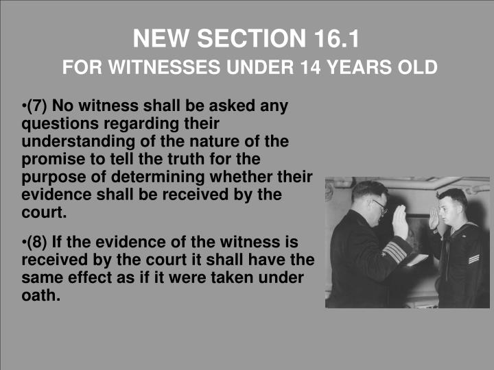 NEW SECTION 16.1