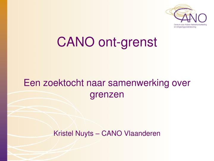 Cano ont grenst